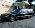 Cadillac zwart.