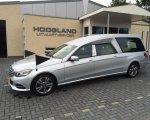 Mercedes Benz zilver grijs.
